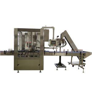 Máquina taponadora rotativa automática de 6 cabezales
