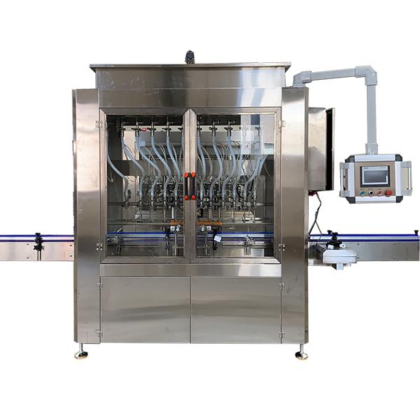 Máquina automática de llenado de líquidos por gravedad
