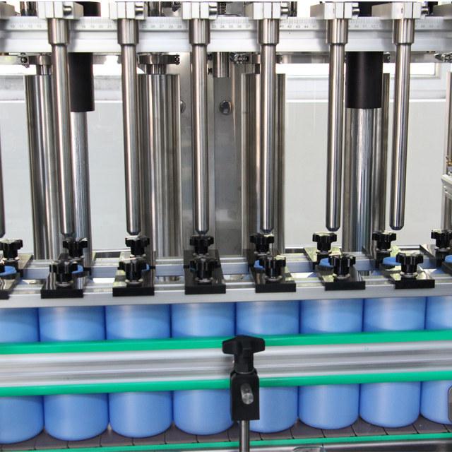 Desinfectante de manos automático Equipo de llenado de botellas de spray de plástico