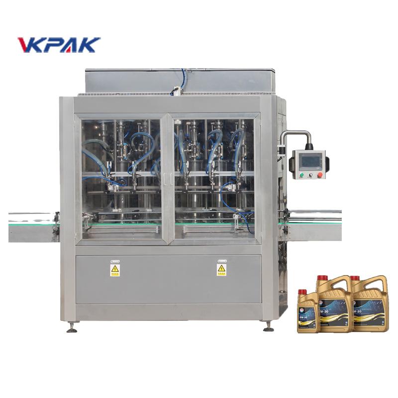 Máquina automática de llenado de aceite lubricante lineal