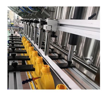 Máquina automática de llenado de líquidos viscosos para botellas de plástico