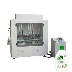 Llenadora de botellas de limpiador líquido desinfectante