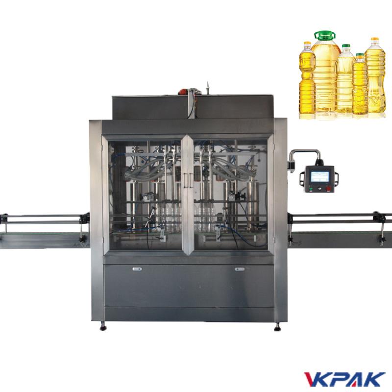 Máquina de llenado de botellas de pistón