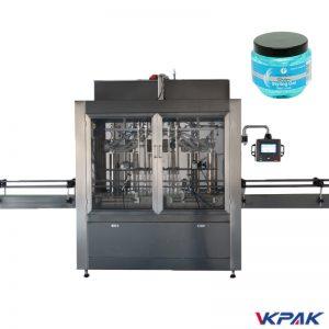 Llenadora de pistón de servomotor de gel desinfectante